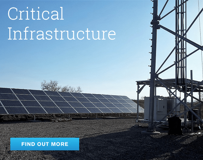 Critical energy storage infrastructure